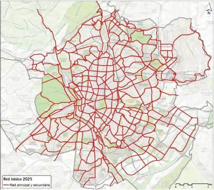 Convocan una manifestación en Madrid para exigir una red ciclista protegida