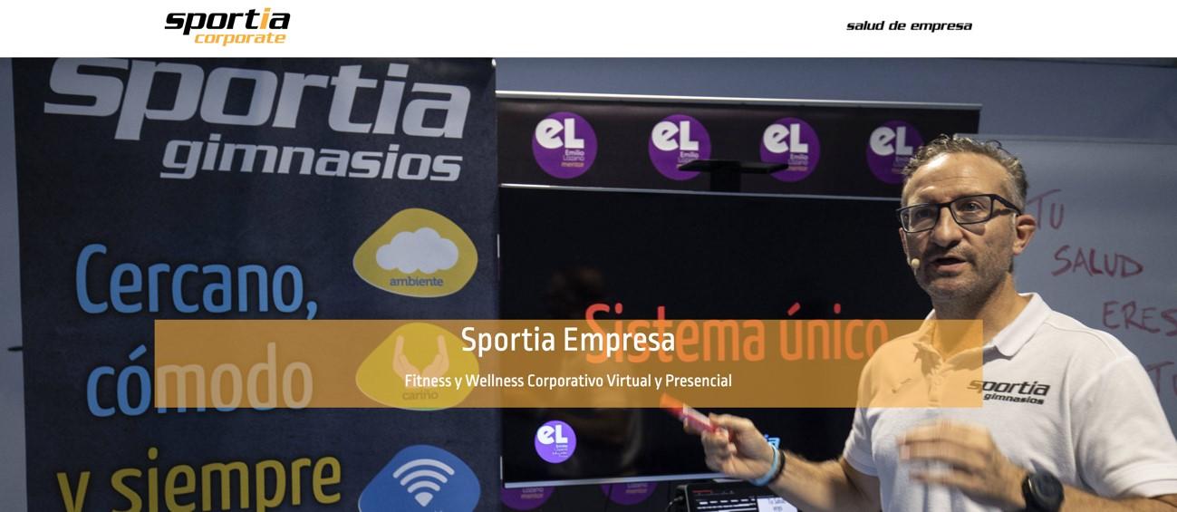 Sportia lanza su plataforma digital Corporate para las empresas