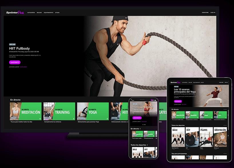 Sprinter lanza su propia plataforma de entrenamiento online, Sprinter Pass