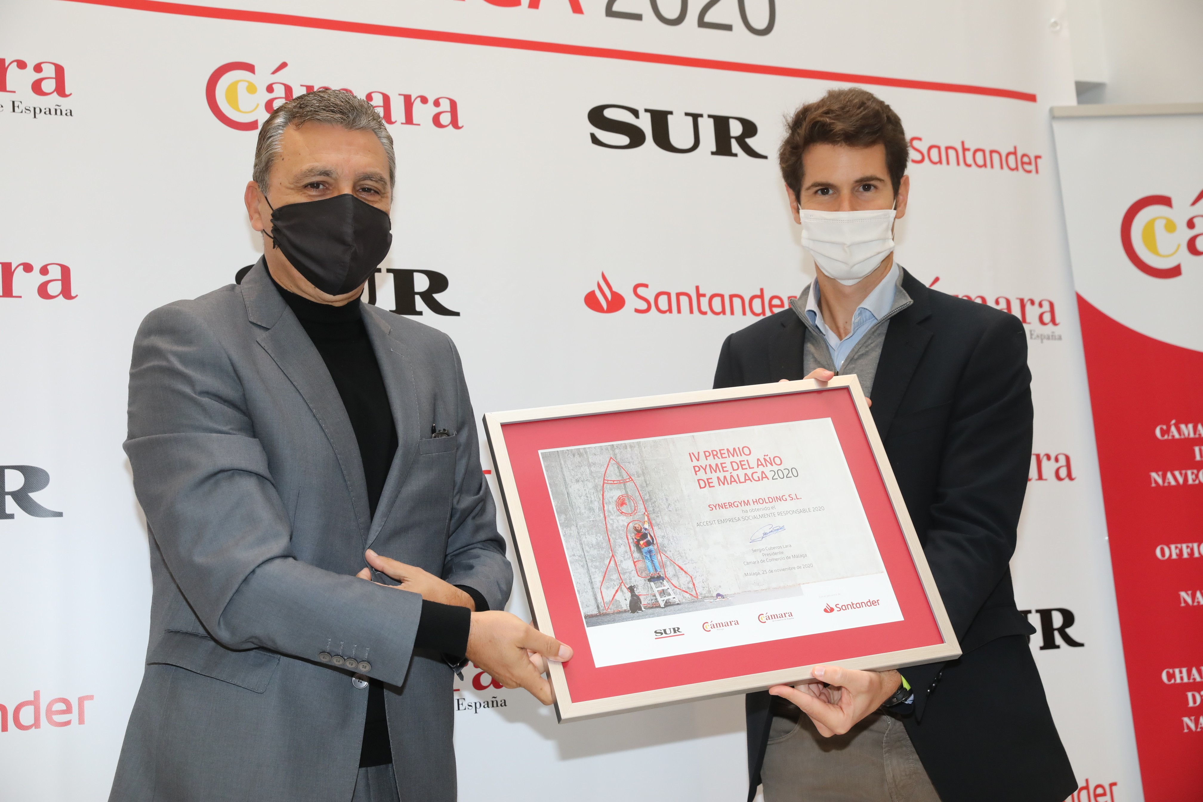 Synergym galardonada en los premios PYME del año de Málaga