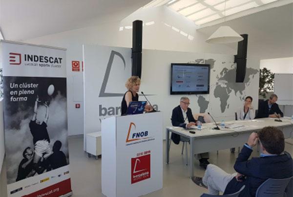 Indescat presenta un proyecto para internacionalizar las pymes del deporte