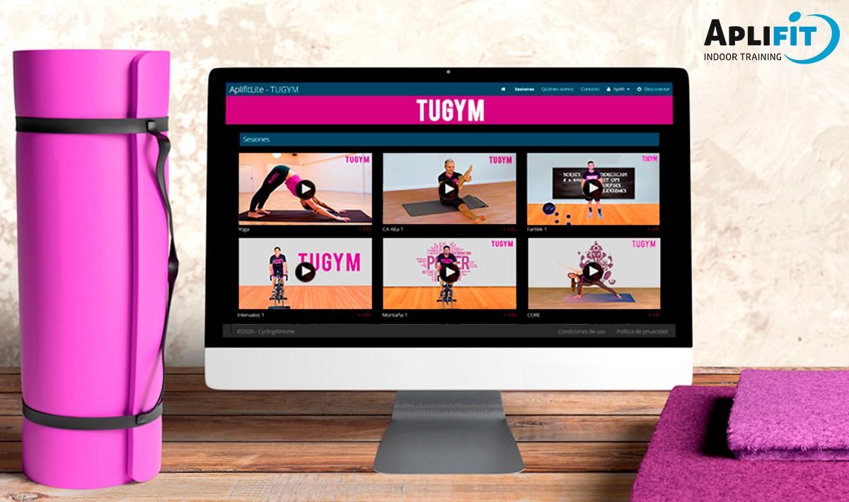 Aplifit ha instalado su plataforma online en más de 30 gimnasios