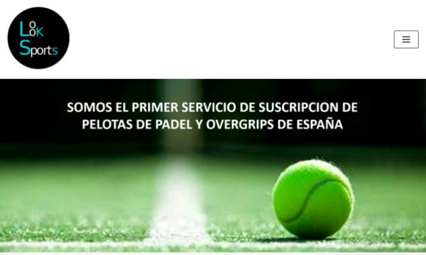 Abre el primer servicio de suscripción de bolas y overgrips de pádel en España