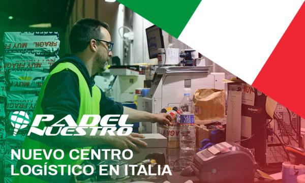 Padel Nuestro abre un nuevo centro logístico en Bolonia