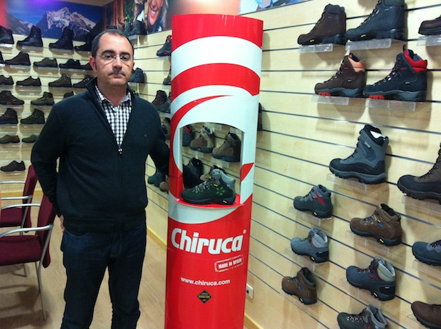 """Chiruca reclama """"mayor visibilidad"""" del outdoor en las tiendas multideporte"""
