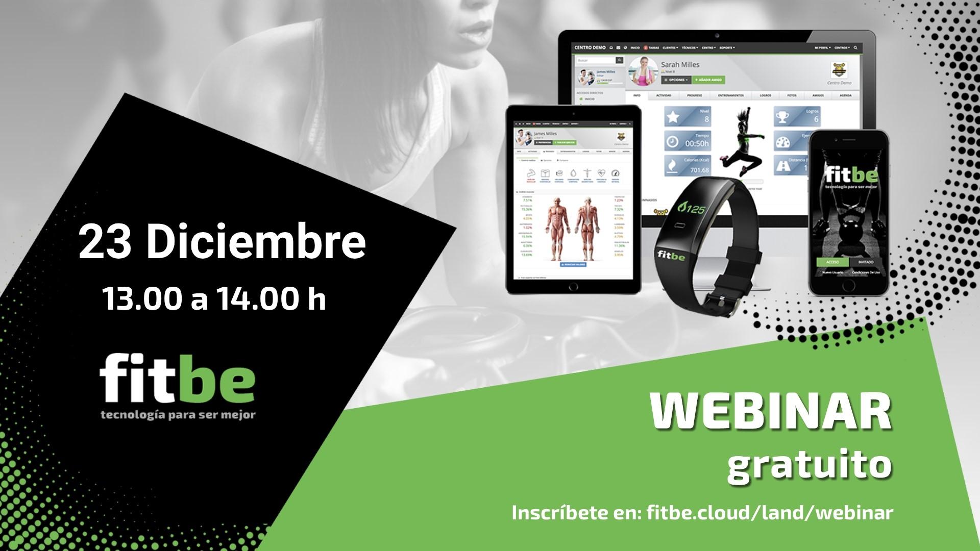 Fitbe organiza un webinar gratuito sobre nuevas funcionalidades
