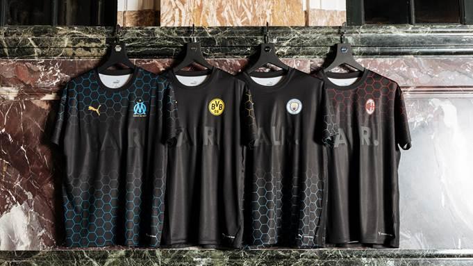 Puma lanza nuevas versiones lifestyle de sus camisetas de equipos de fútbol