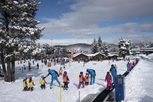 Las escuelas de esquí de La Cerdaña en la UCI