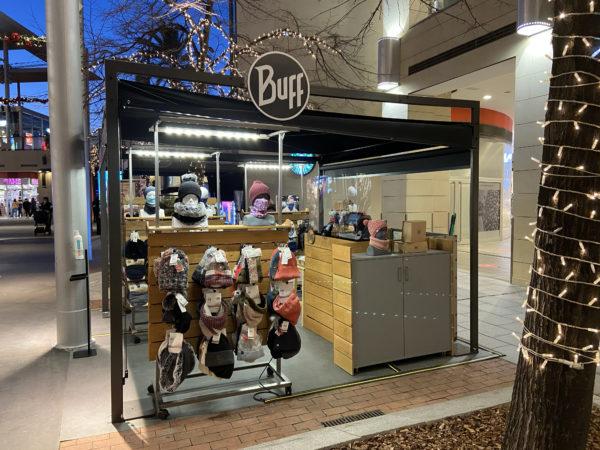 Buff abre siete tiendas pop-ups para la campaña de Navidad