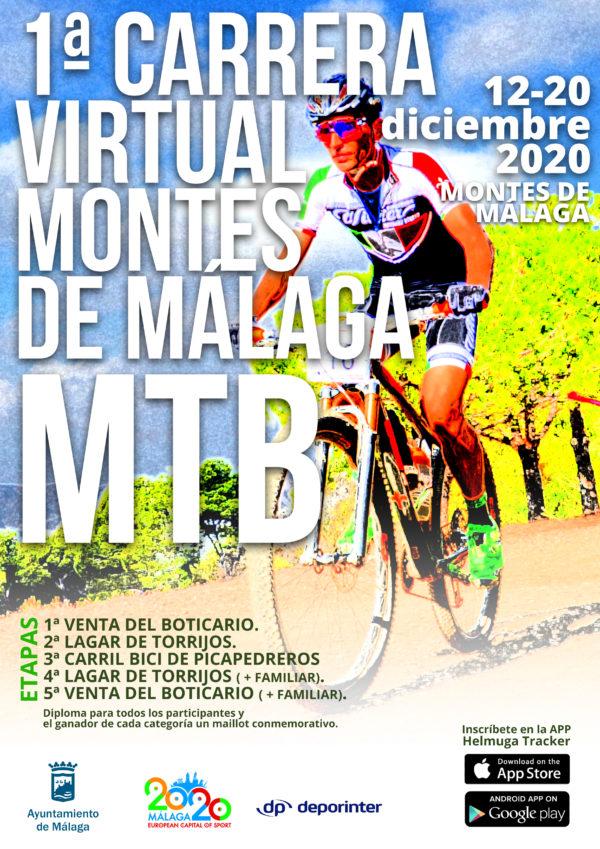 Empieza la I Marcha MTB virtual Montes de Málaga