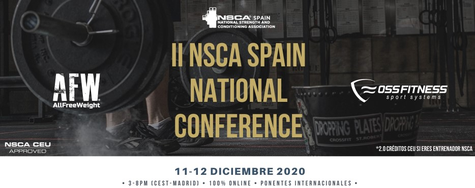 Oss Fitness patrocina el II NSCA Spain National Conference