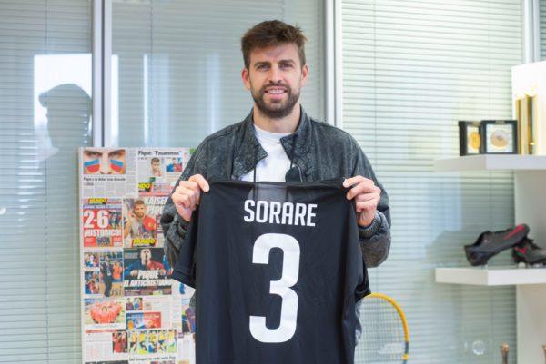 Gerard Piqué invierte en la compañía de fútbol fantasy Sorare