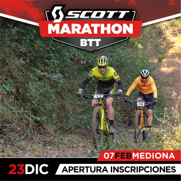 Abiertas las inscripciones para la primera prueba de la Scott Marathon BTT 2021