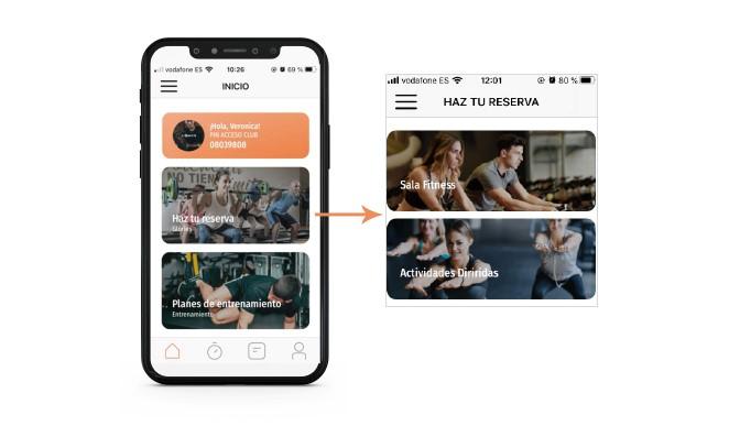 Vitale diseña la nueva app de entrenamiento VivaGym Online
