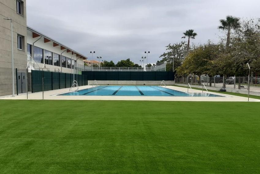 BeOne invierte más de 500.000 euros en la Piscina Municipal de Rincón de la Victoria
