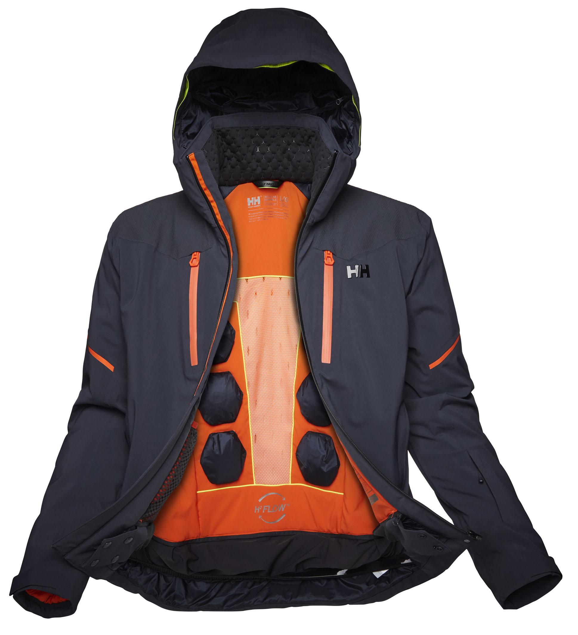 Helly Hansen mejora el sistema de ventilación en su nueva chaqueta