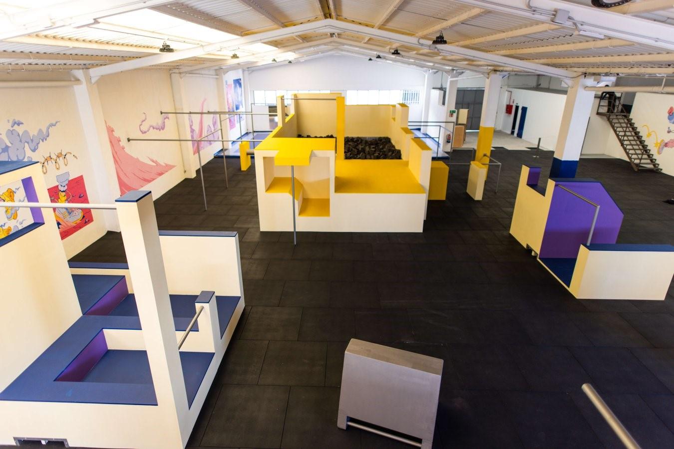 Abre en Madrid el primer gimnasio especializado en Parkour