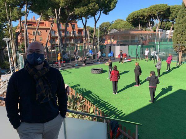 El Club de Tenis Andrés Gimeno limita la caída de abonados gracias a su pulmón financiero