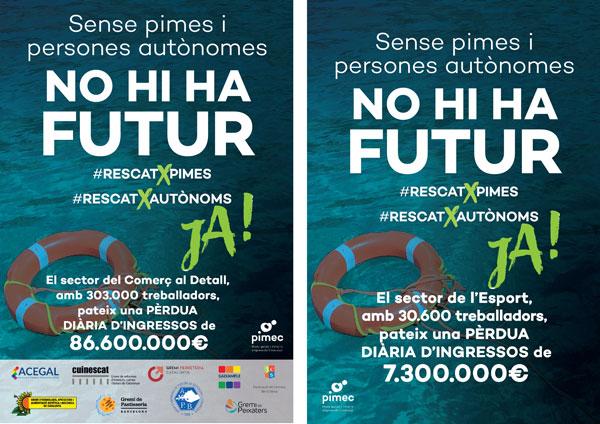 Pimec emprende una campaña en defensa de pymes y autónomos