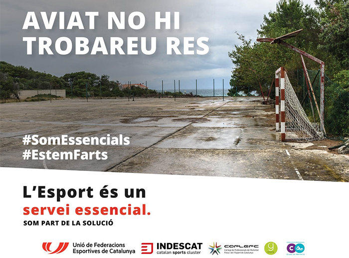 """El deporte catalán se declara """"tocado de muerte"""""""