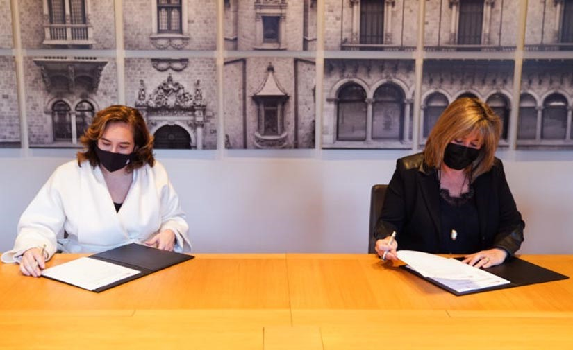Diputación y Ayuntamiento de Barcelona invertirán 20 millones de euros en nuevos centros deportivos