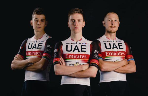Gobik vestirá al UAE Team Emirates, equipo de Tadej Pogačar