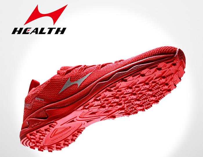 Health crea un cóctel de tecnologías en su nueva zapatilla de running 699Pro