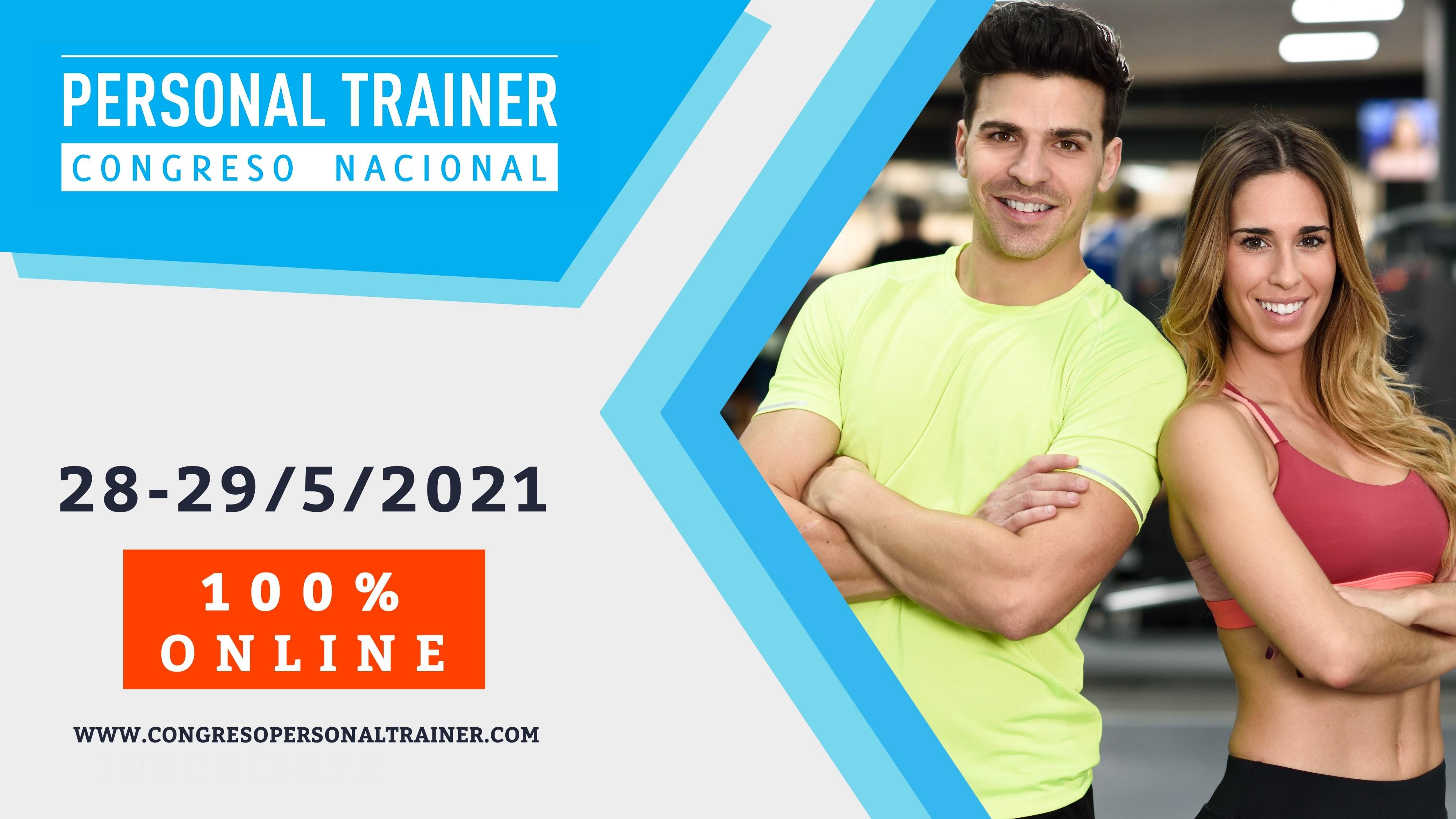 La 7ª edición del Congreso Personal Trainer se celebrará el mes de mayo