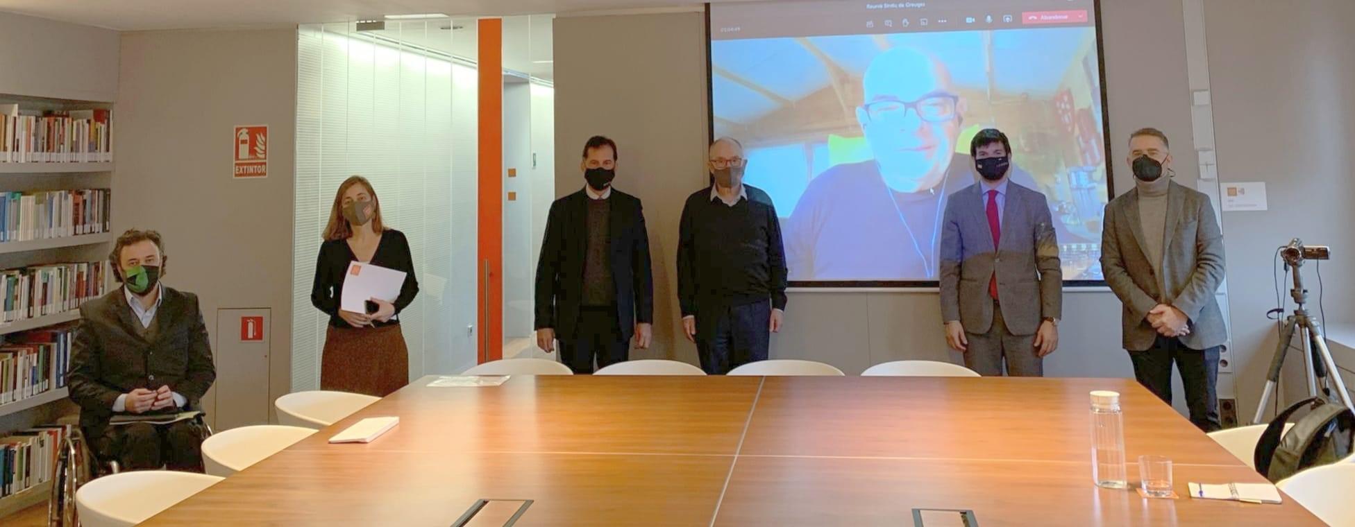 Las organizaciones del deporte catalán se reúnen con el Síndic de Greuges