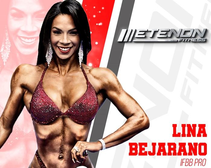 Lina Bejarano, último fichaje de Etenon Fitness