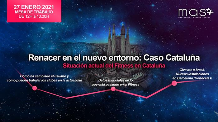 MAS analizará la situación del fitness en Cataluña en un evento digital