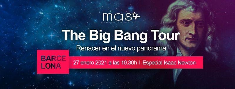 The Big Bang Tour de MAS llega a Barcelona con un webinar