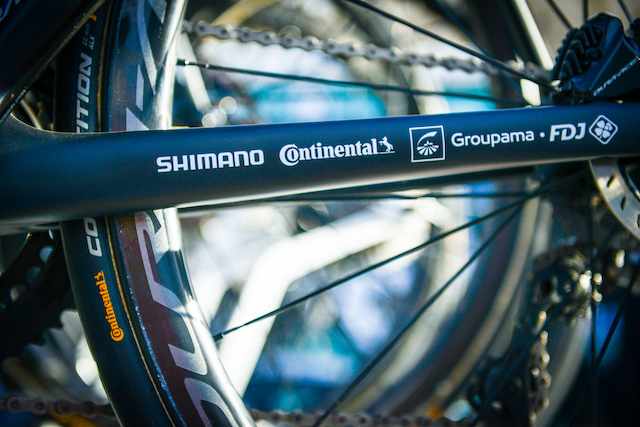 Shimano renueva su acuerdo con el equipo Groupama-FDJ