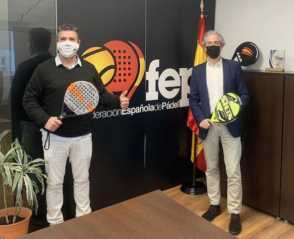 Siux se convierte en pala oficial de la Federación Española de Pádel