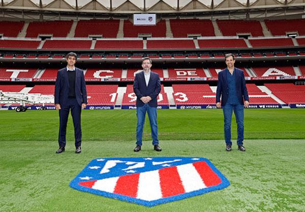 BH Fitness se convierte en proveedor oficial del Atlético de Madrid