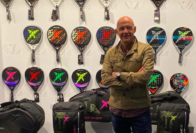 Drop Shot prevé doblar este año la cifra de palas vendidas en 2020