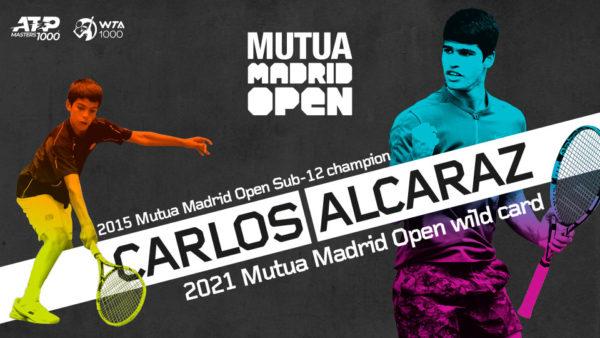 La joven promesa Carlos Alcaraz disputará el Mutua Madrid Open