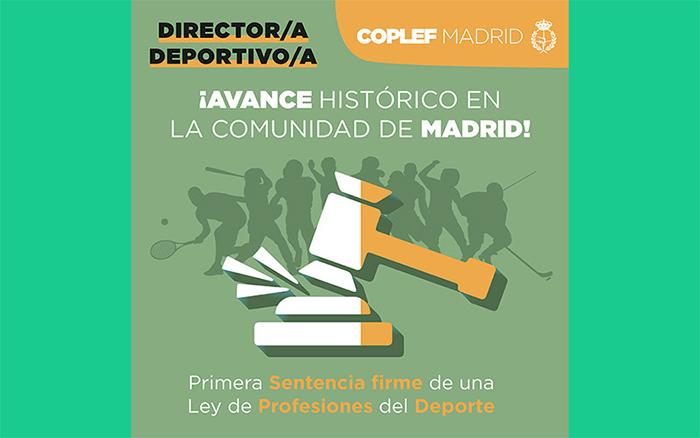 El Tribunal Superior de Justicia de Madrid impide dirigir centros deportivos sin titulación oficial en CAFD