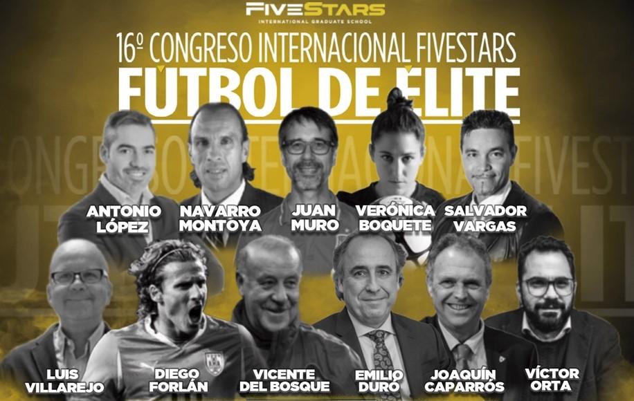 El 16º Congreso Fivestars Fútbol de Élite congrega a más de 550 asistentes