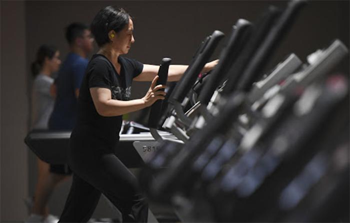 Los gimnasios chinos registran una recuperación en V en el escenario Covid19