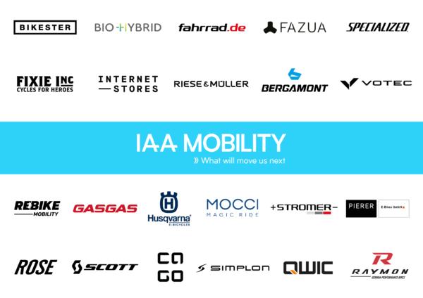 Grandes marcas de ciclismo expondrán en la IAA Mobility de Múnich