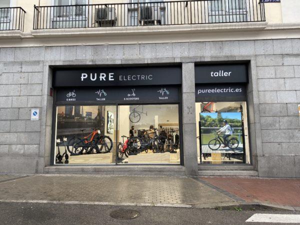El gigante inglés Pure Electric abre su primera tienda en España
