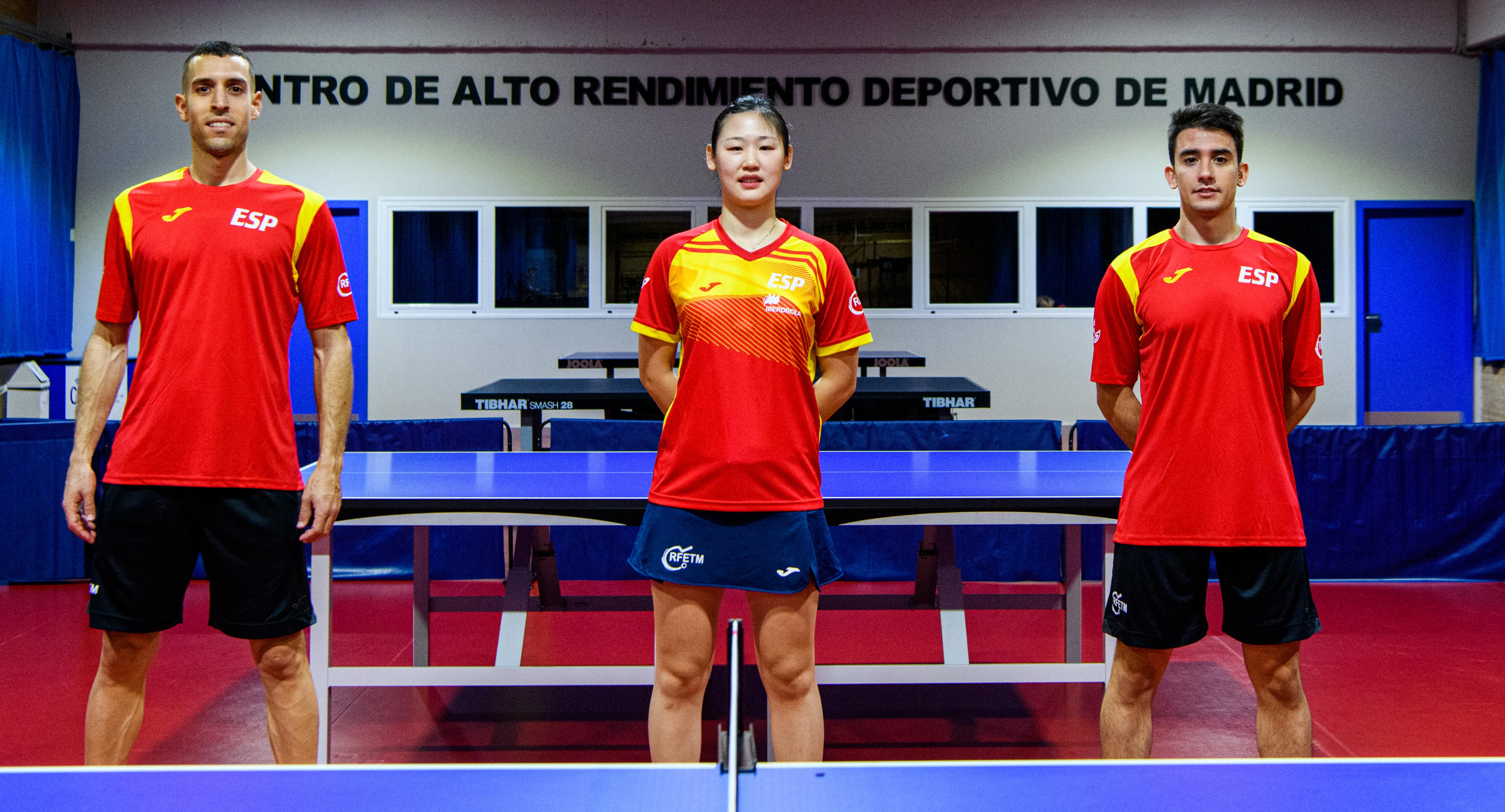 Joma vestirá a los equipos nacionales de tenis de mesa