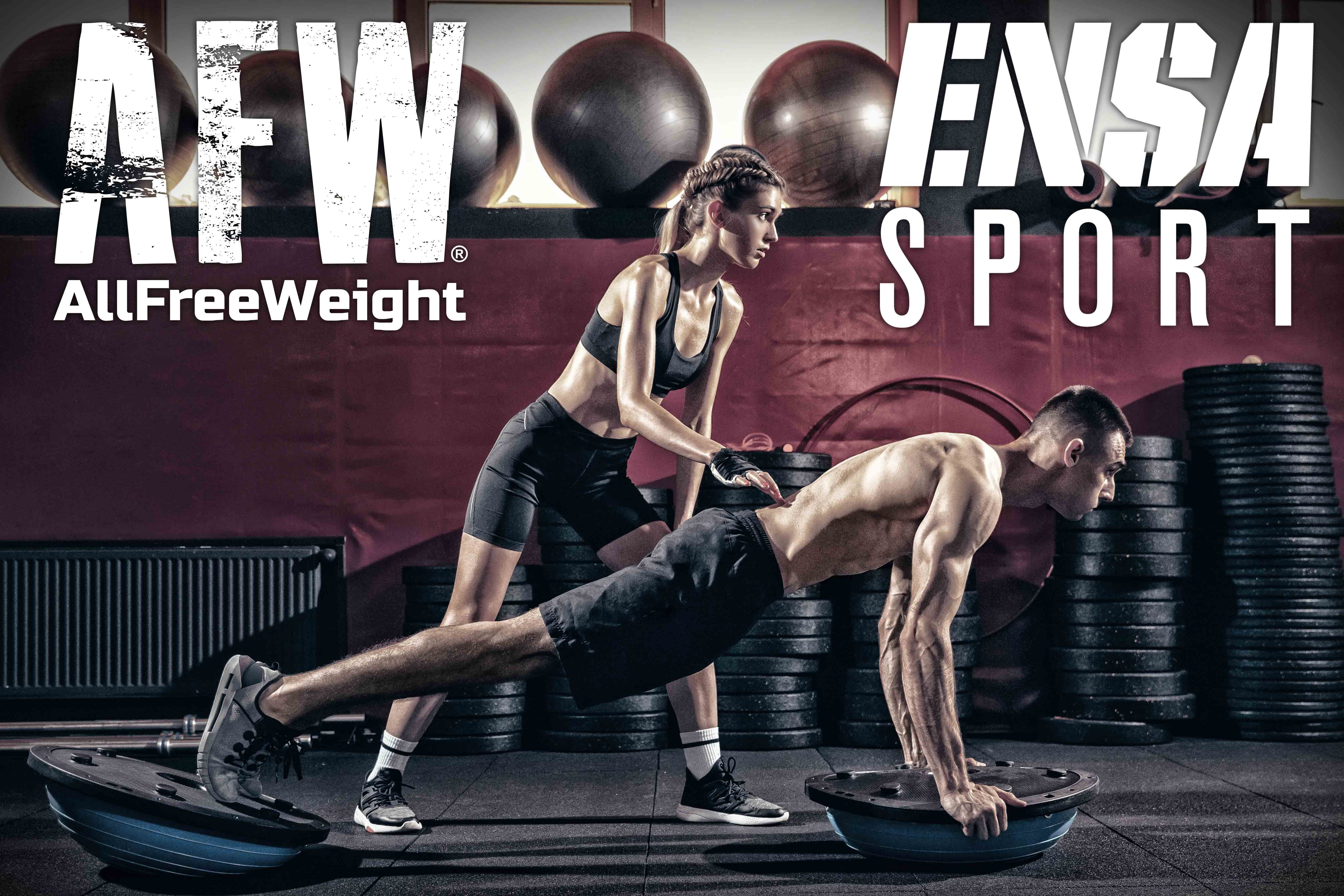 Oss Fitness y Ensa Sport firman un acuerdo de colaboración y patrocinio