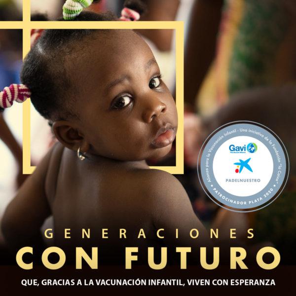 Padel Nuestro se adhiere a la alianza mundial para la vacunación infantil