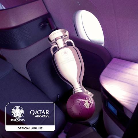 Qatar Airways será patrocinador oficial de la Eurocopa