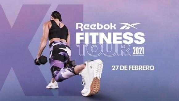 Reebok celebra el evento de entrenamiento Fitness Tour 2021