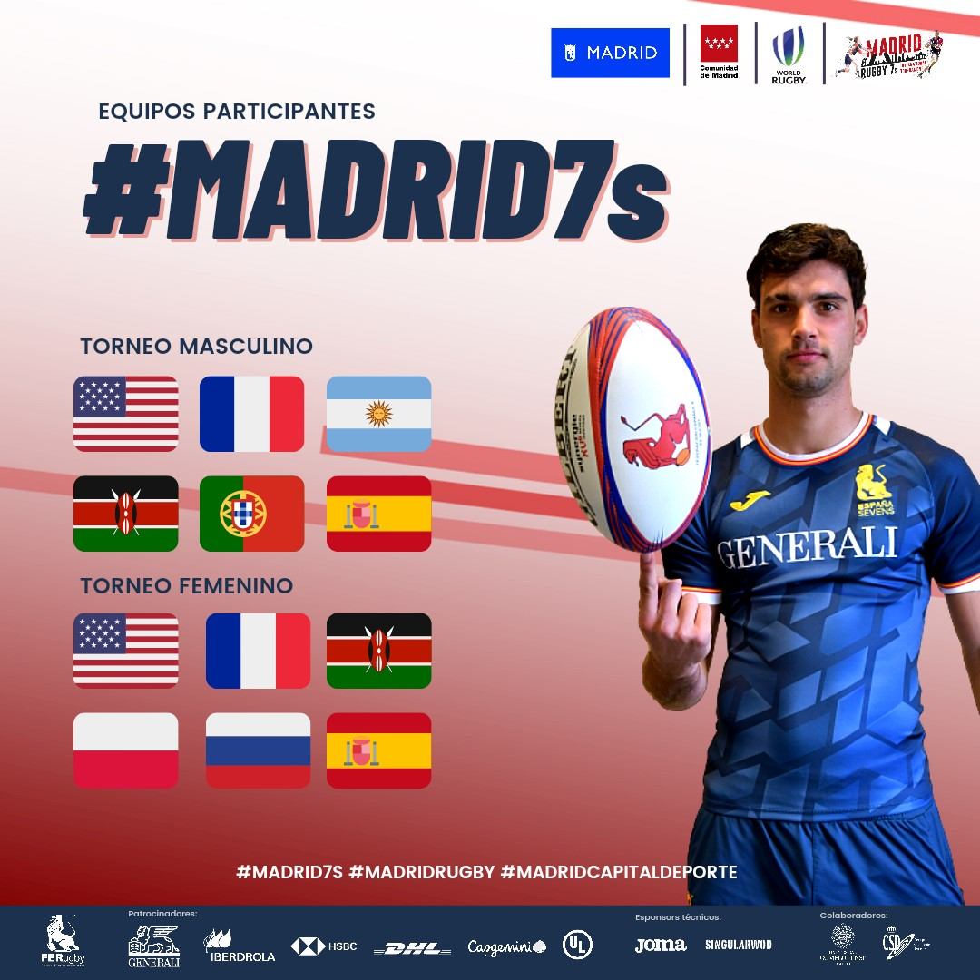 Singular WOD es patrocinador técnico del Madrid Rugby 7s International Tournament