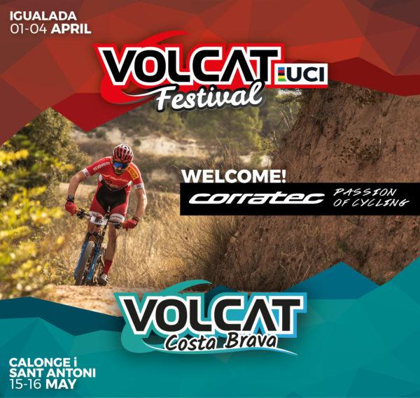 Corratec se convierte en el principal patrocinador de la VolCAT