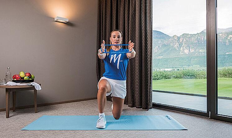 6 ejercicios para tonificar brazos y piernas con bandas elásticas